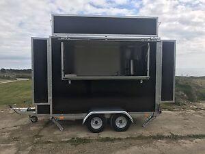 9ft X 6ft X 6 6ft Trailer Inc Vat Mobile Catering