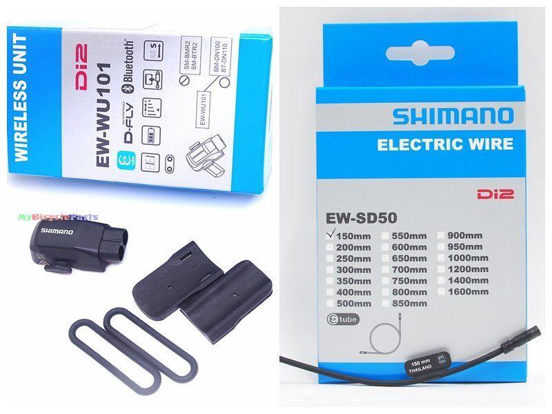 Transmisor Inalámbrico SHIMANO EW-WU101 Di2 unidad de datos con 150mm de Tubo EW-SD50 E