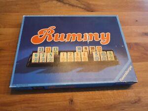 Rummy-Ravensburger-primero-tirada-1980-juego-gessellschaftsspiele-raras