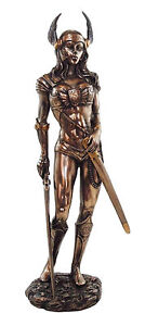 NEW-10-034-H-PAGAN-GODDESS-VALKYRIE-STATUE-FIGURINE-NORSE-VIKING-ODIN-MAIDENS