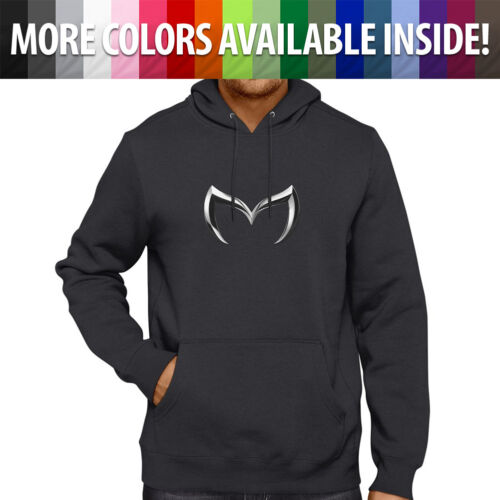 Mazda Evil M Bat Emblem Logo Mazdaspeed Pullover Hoodie Jacket Hooded Sweater