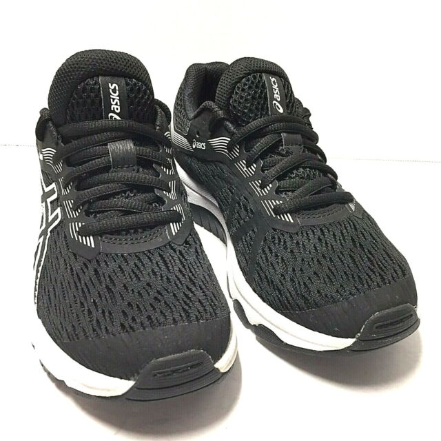 Asics GT 1000 7 Running Active Shoes  Big kids Black White Size 3.5 Us PreOwned