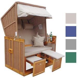 strandkorb xxl premium nordsee volllieger gartenliege gartenm bel sonnenliege ebay. Black Bedroom Furniture Sets. Home Design Ideas