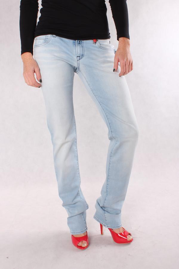 NEU DAMEN JEANS REPLAY WX645 527 373 011 ANNE Hose Trousers Denim Straight