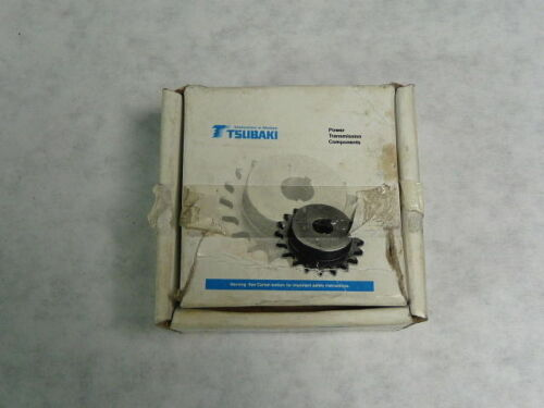 "Tsubaki H40B12F-3//4 Sprocket 12 Teeth 3//4/"" Bore   NEW"