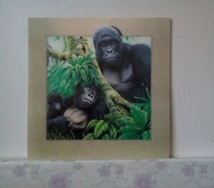 5D-Lenticular-Holographic-Stereoscopic-Picture-Gorilla-Wall-Art