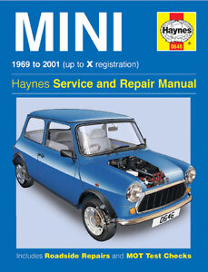 leyland mini workshop repair manual from 1969 2001 with mpn ha0646 rh ebay com au leyland mini 1275e workshop manual 1978 leyland mini workshop manual