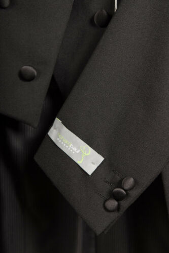Tie pacchetto pezzi 4 Evening fiocco White gilet Pantalone Fracotto Tails q7xaEU4