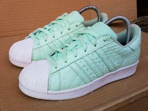 Peau De 4 Reptile Immaculée Mint Baskets Vert Taille Adidas Superstar Uk 29IWDEHY