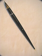 VINTAGE SHEAFFER W/DOT LIFETIME 14K NIB DESKTOP BASE FOUNTAIN PEN