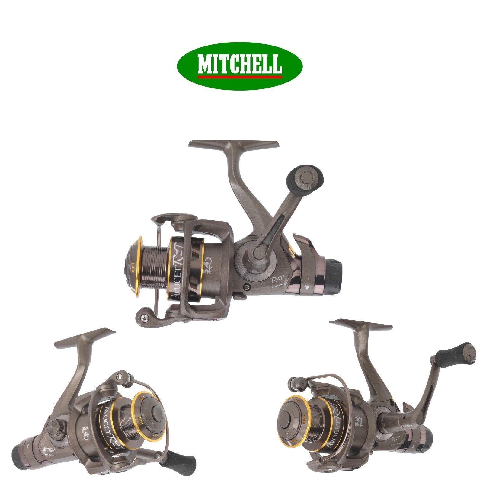 Mitchell Avocet Rzt Cocherete Giro 2 Modelos Partido Grueso Juego Pesca de Cochepa