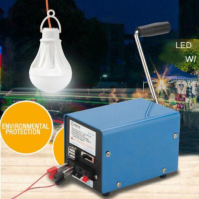 20W Multifunction Manual Crank Generator for Outdoor Emergency Survival Tool