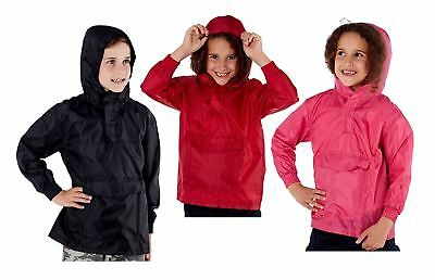 Responsabile Bambini Ragazzi Ragazze Leggera Pioggia Giacca Cappotto Con Cappuccio Pac Via Showerproof Mac Estate-mostra Il Titolo Originale Vendita Calda Di Prodotti