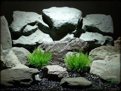 plastic aquarium plants: pine needle grass bushes from ron beck designs. pap215