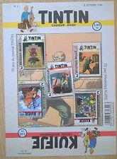 Timbre Belgique Belgïe : BD Tintin Kuifje blake Mortimer Corentin Cori Bobette