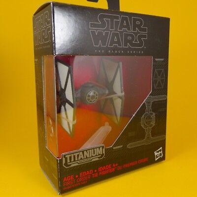 Star Wars Black Series Titanium #13 First Order Tie Fighter
