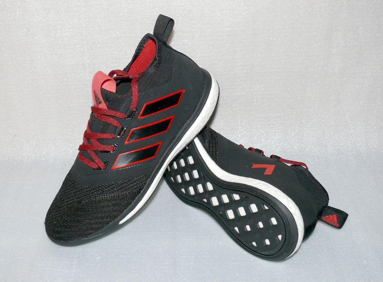Adidas BA4431 ACE TANGO 17.1 Herren Schuhe Sport Turnschuhe 41 1 3 US 8 Schwarz Rot