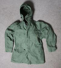 Vintage 1961 USAF Military Mens Small Regular Cotton Sateen Lined Jacket OG-107