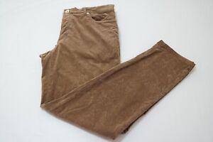 Brunello-Cucinelli-Honey-Brown-Cotton-Blend-Corduroy-Mens-Pants-Sz-50-EU