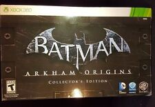 Batman Arkham Origins Collector's Edition Xbox 360 2013 New Sealed