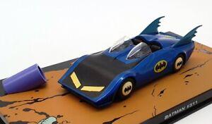 EAGLEMOSS-escala-1-43-Modelo-de-Coche-311-Batman-Batmobile-Negro-Azul