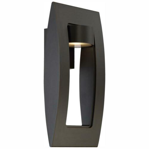 Home Decorators Collection Frolynn 1-Light Oil Rubbed Bronze with Gold Outdoor