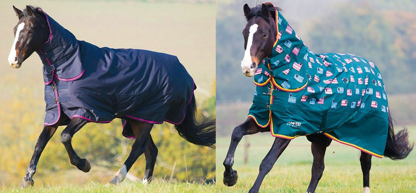 Shires Tempest 200g Full Neck Winter Mediumweight Turnout Horse Rug Combo