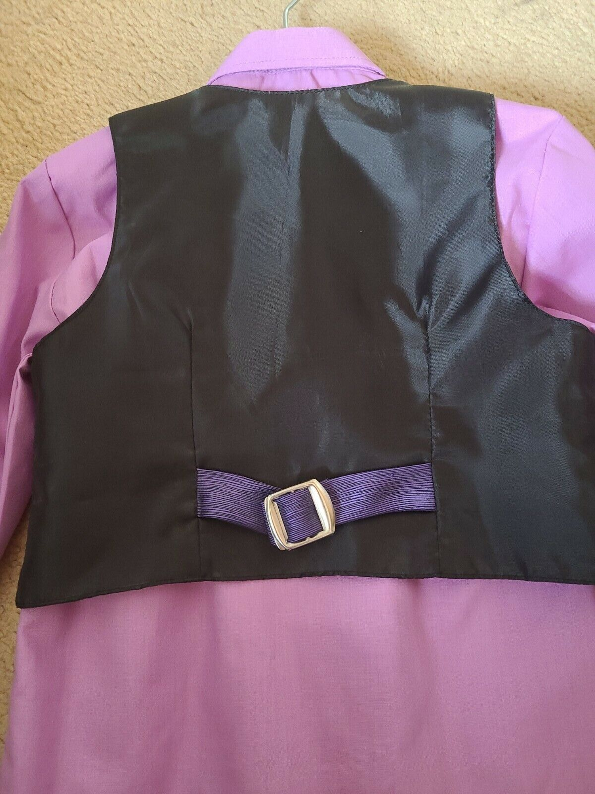 Boys Suit Shirt Waistcoat Trousers age 2-3 Hardly Worn