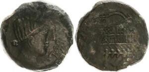 Ae-as 150-100 V.chr. Antikes Griechenland / Ibero- Kelten Spanien Ss (33815) SchöN In Farbe