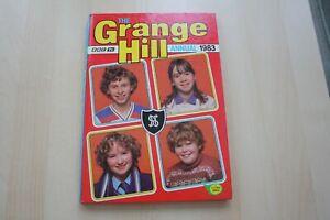 The-Grange-Hill-Annual-1983-Children-039-s-Hardback-BBC-TV-Annual-Hardback-Book