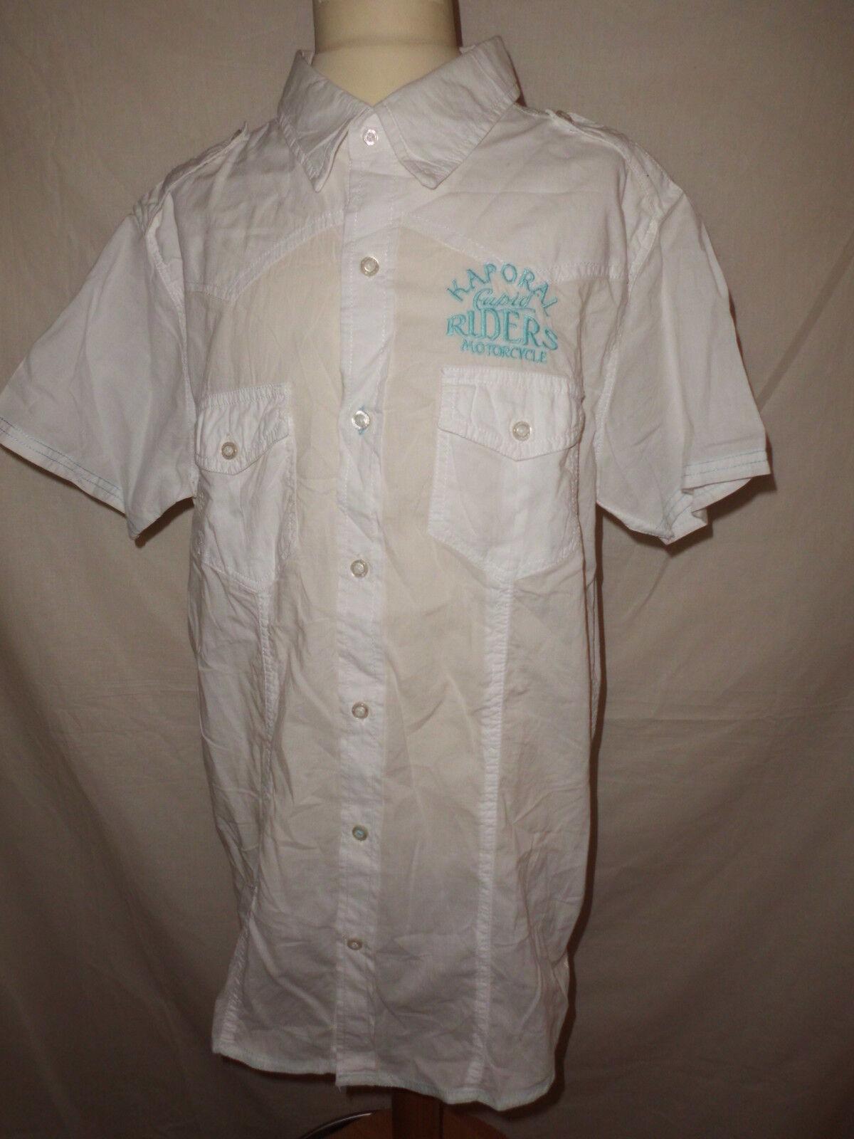 Chemise Taille Kaporal 5 Blanc Taille Chemise M  à  -66%* 1ef94b