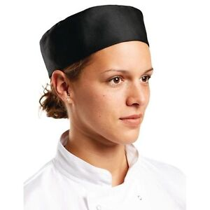 Chef-Skull-Cap-Black-Comm-Quality-One-Size-Fits-Most-AUS-Seller-Fast-Del