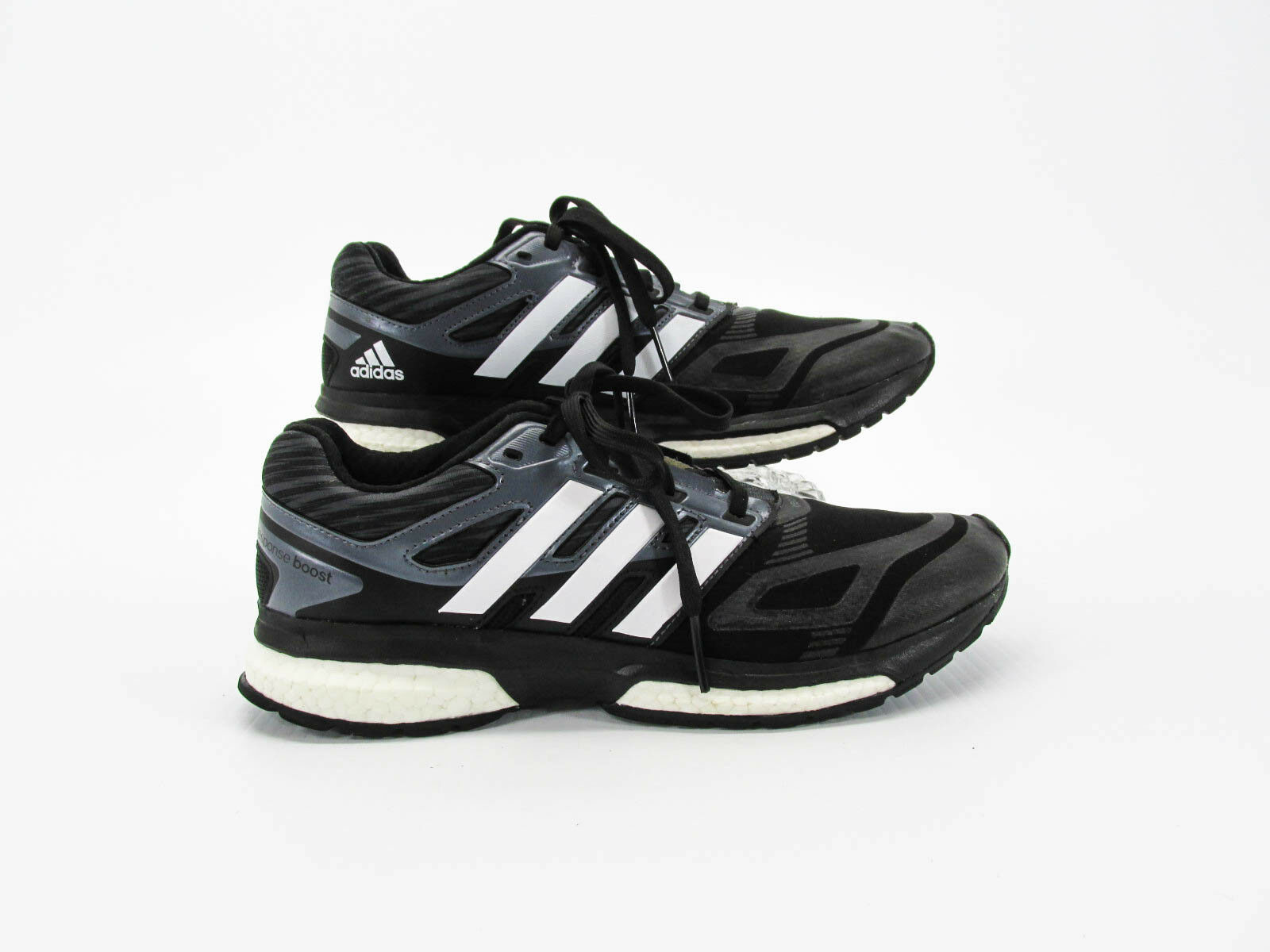 Adidas Response Boost Techfit Men Black Athletic Training shoes 8M Pre Owned CQ