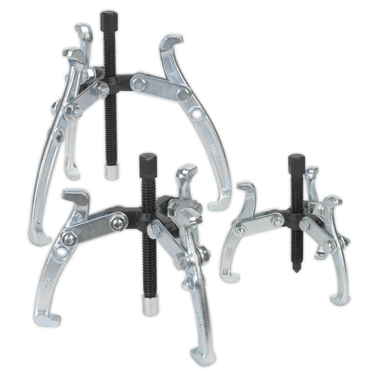 Triple Leg Gear Puller Set 3pc SEALEY VS78