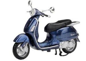VESPA SCOOTER 2003 1:18 Moto Models Miniature Die Cast Toy Motorbike ...