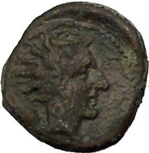GELA-in-SICILY-420BC-Bull-River-god-Gelas-Rare-RARE-R2-Ancient-Greek-Coin-i52416