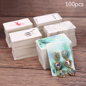 100pcs-lot-Paper-Necklace-amp-Earrings-Display-Packing-Cards-Jewelry-Ornament-DIY-IT