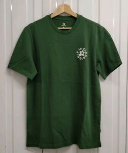 Details about New Mens Converse Golf Le Fleur Green Embroidered T-shirt UK  Size Medium 7e4d948cfd62