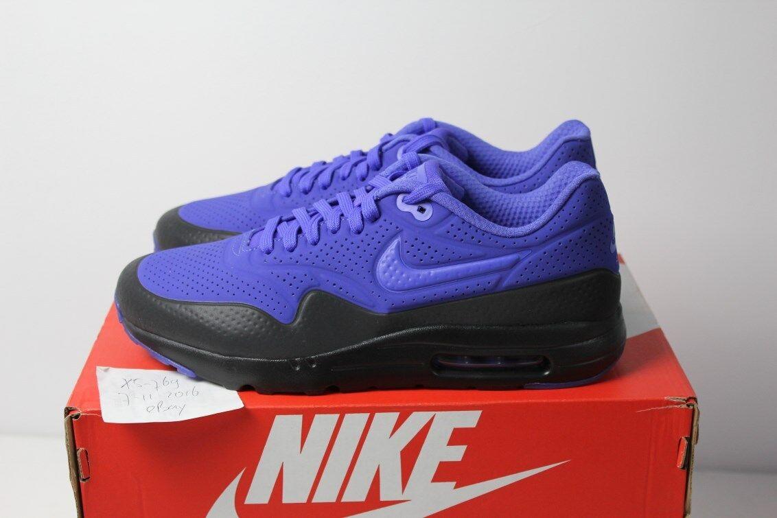 Max 1 Ultra Moire Air Nike Air Moire Violet Persa Negro Uva Morado NSW AM1 7 8 9 10 12 8973eb