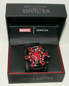 Marvel-Comics-Invicta-56mm-Daredevil-LE-6-3000-Quartz-Wristwatch-Watch-New-Box