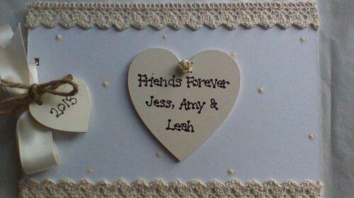 Personnalisé friends forever mémoire album photo scrapbook