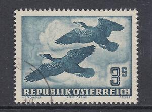 Austria-Sc-C57-used-1953-3s-dark-slate-green-Birds-VF