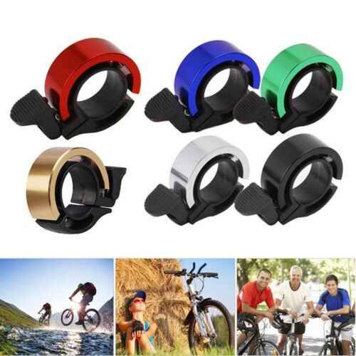 Bike Bicycle Cycling Aluminium Q Bell Alarm Ring 90db Safety MTB Handlebar Horn