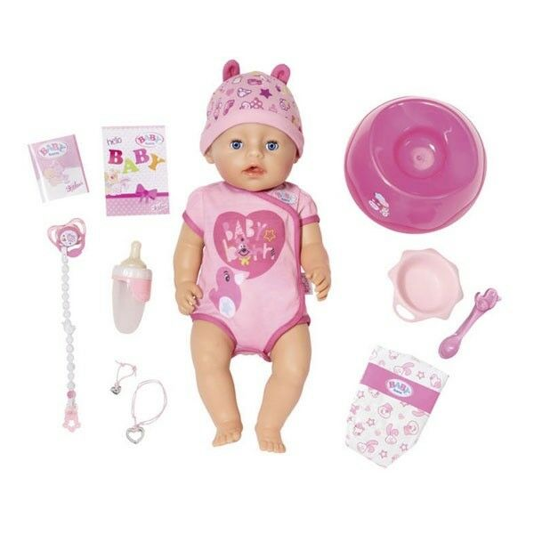 ZAPF CREATION BABYBORN BABY BORN SOFT TOUCH PUPPE GIRL MÄDCHEN NEU