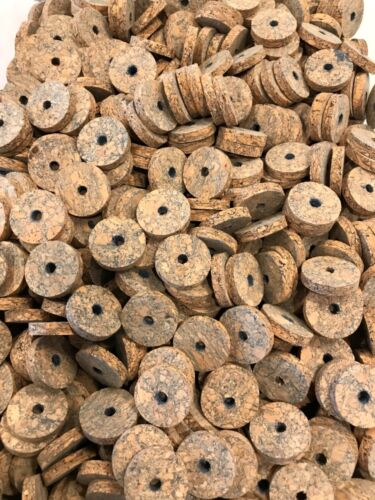 "12 Deep Blue Burl,1 1//4"" X 1//4"" X 1//4"" Nice! Cork Rings"