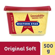Western Star Traditional Spreadable Original Soft Butter Blend Tub 500g