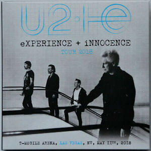 Details about U2 EXPERIENCE + INNOCENCE TOUR 2018 Live USA soundboard 2CD  set in digisleeve
