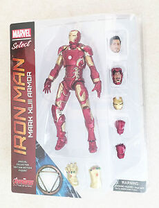 Marvel-Avengers-Iron-Man-Mark-XLIII-Armor-PVC-edades-4-Nuevo-Juguete-Ironman-Ninos-Jugar