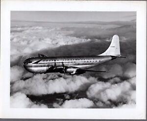 BOEING STRATOCRUISER B377 LARGE VINTAGE ORIGINAL HAROLD G MARTIN PHOTO