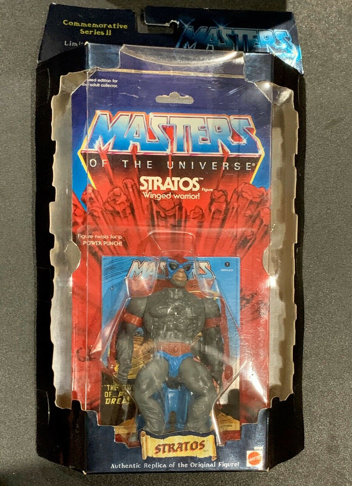 Commemorative MOC Masters Of The Universe Sratos